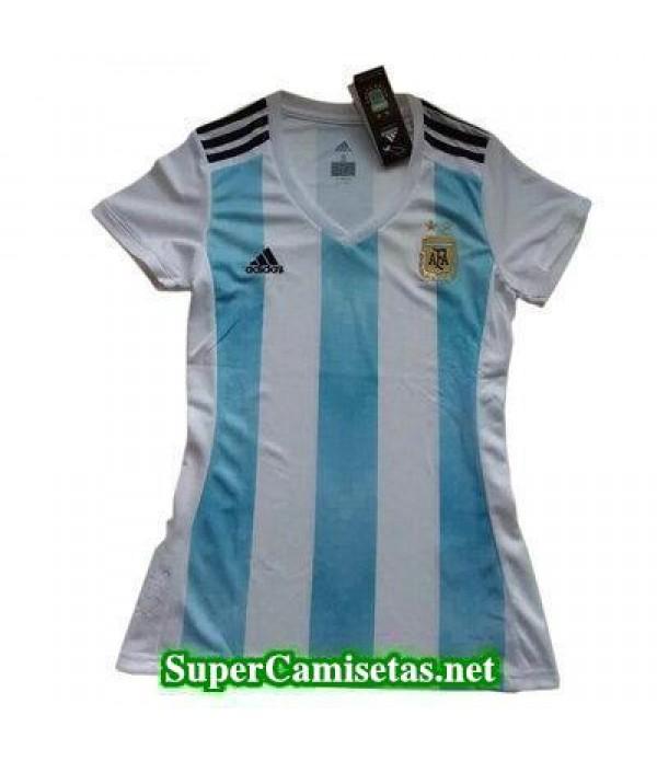 Primera Equipacion Camiseta Argentina Mujer Copa M...
