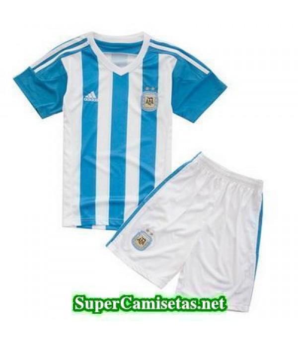Primera Equipacion Camiseta Argentina Ninos 2015/1...