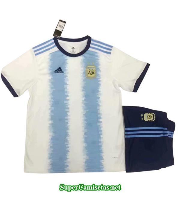Primera Equipacion Camiseta Argentina Ninos 2019/20