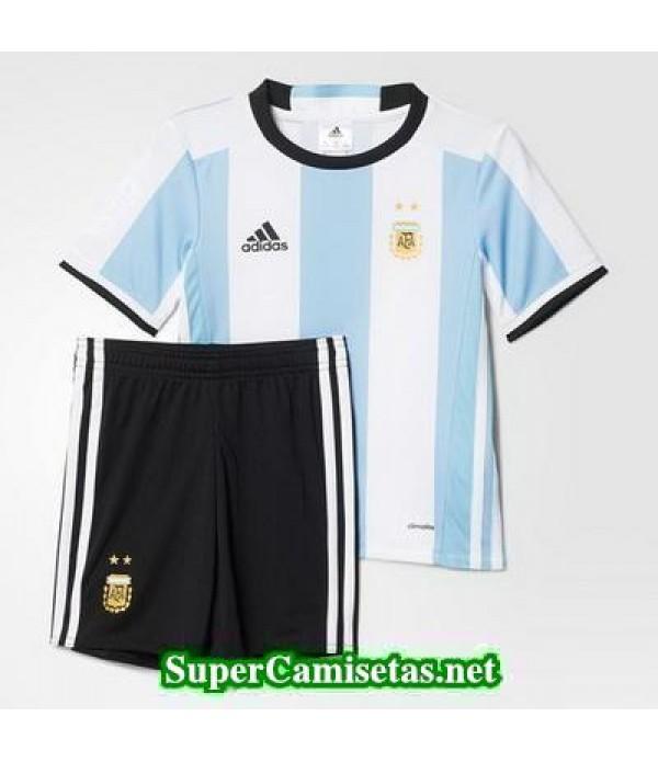 Primera Equipacion Camiseta Argentina Ninos Copa A...