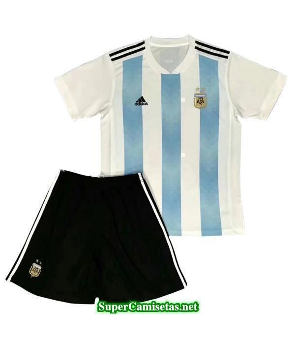 Primera Equipacion Camiseta Argentina Ninos Copa M...