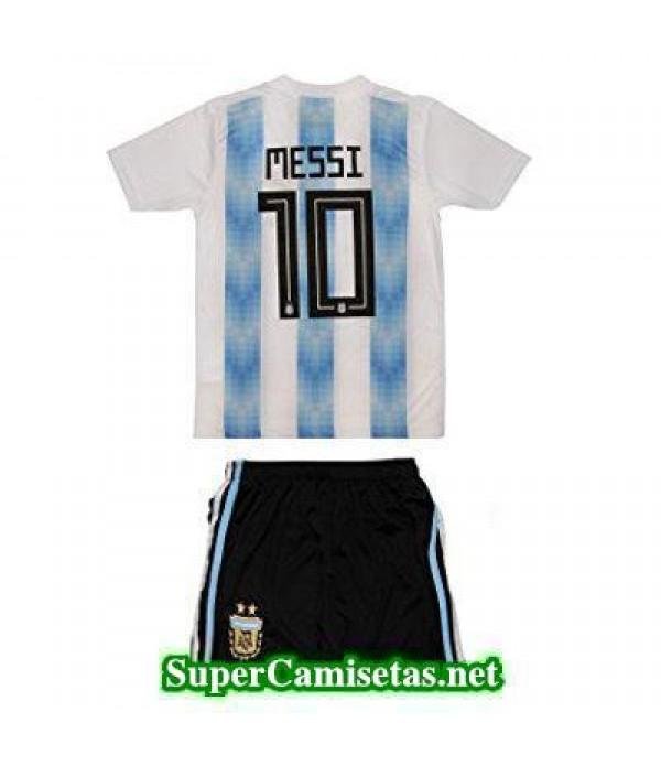 Primera Equipacion Camiseta Argentina Ninos Messi ...