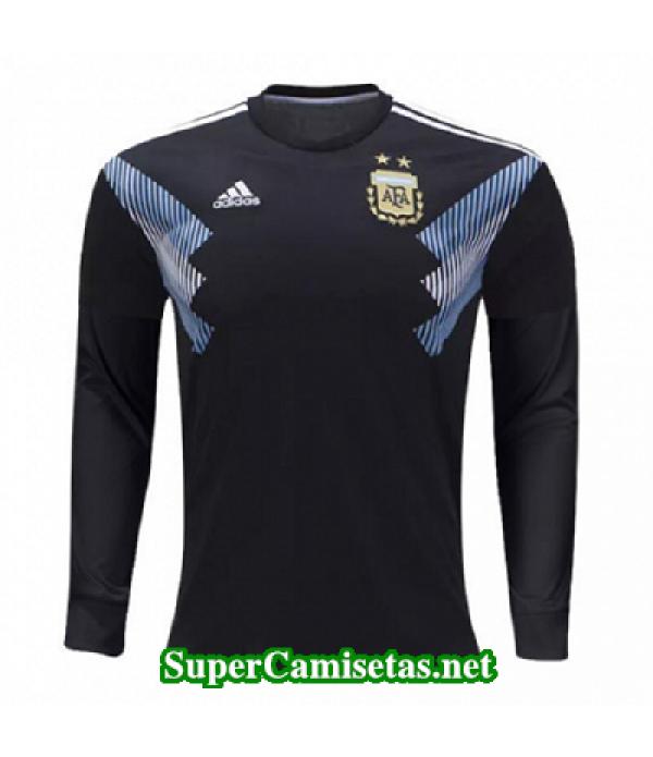 Segunda Equipacion Camiseta Argentina ML Copa Mundial 2018