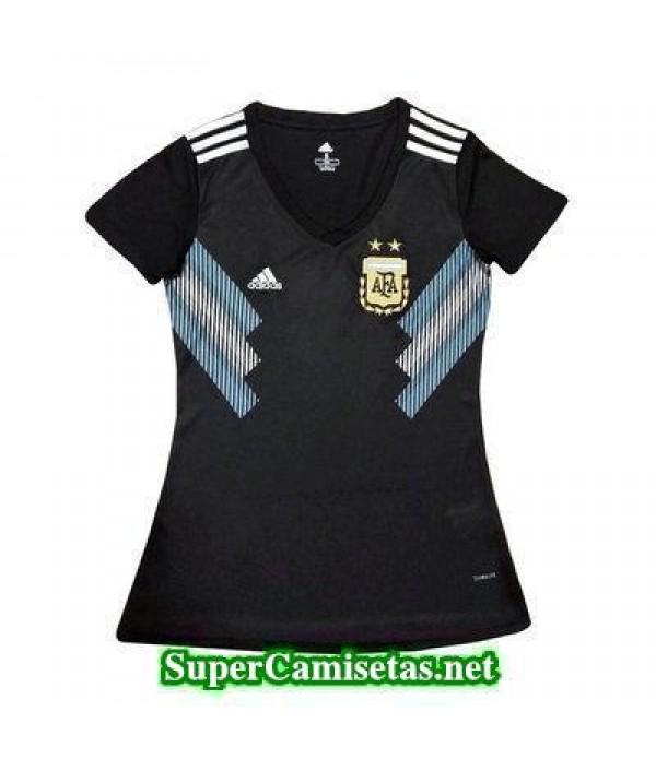 Segunda Equipacion Camiseta Argentina Mujer Copa M...