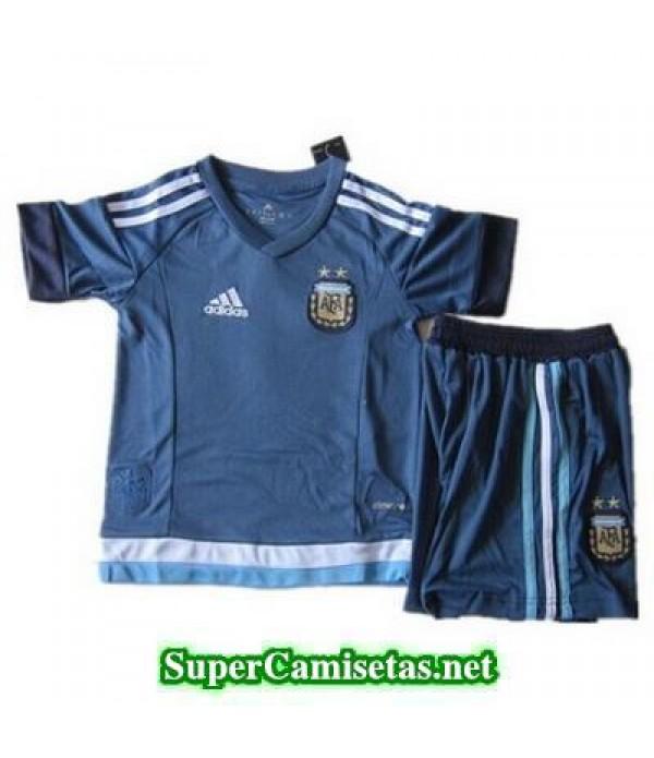 Segunda Equipacion Camiseta Argentina Ninos 2015/1...