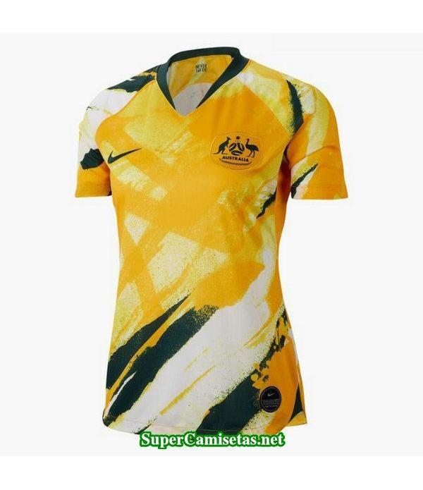 Primera Equipacion Camiseta Australia Mujer Copa Mundial 2019