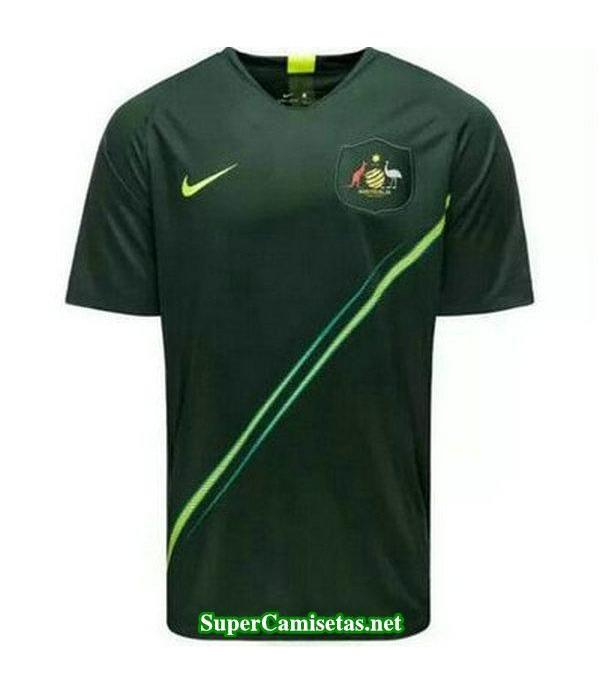 Segunda Equipacion Camiseta Australia Mujer Copa Mundial 2019