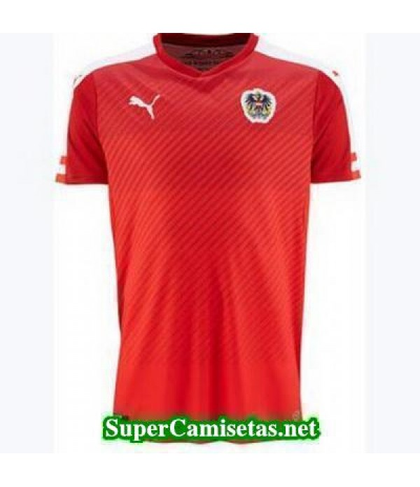 Tailandia Primera Equipacion Camiseta Austria Eurocopa 2016
