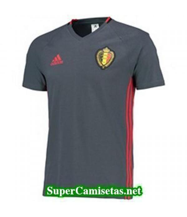 camiseta entrenamiento Belgica Grey 2016 2017