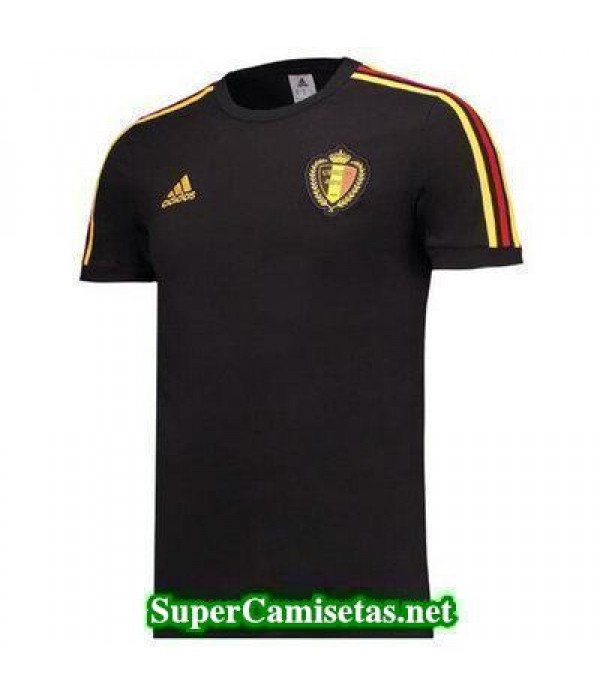 camiseta entrenamiento Belgica Negro 2017 2018