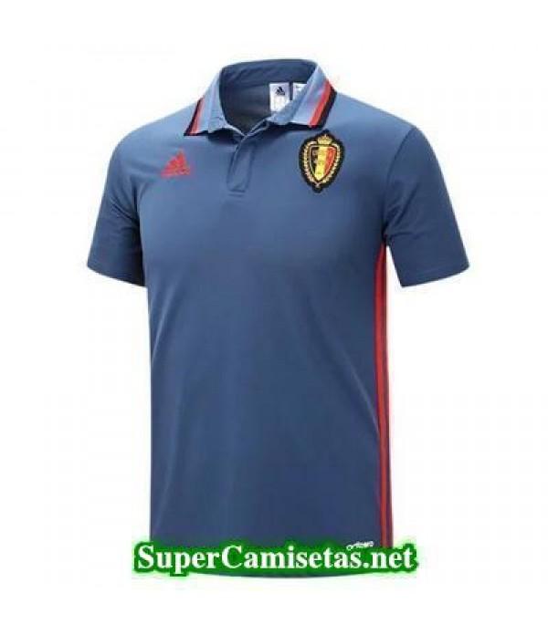 Camiseta polo Belgica Azul 2016 2017
