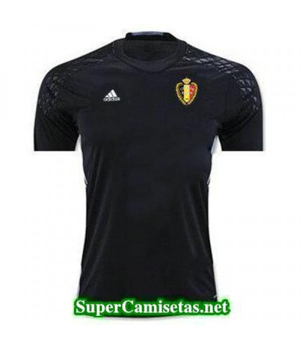 Portero Equipacion Camiseta Belgica 2016 2017