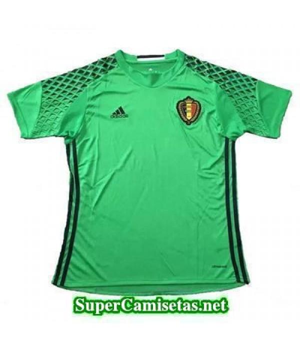 Portero Equipacion Camiseta Belgica Eurocopa 2016