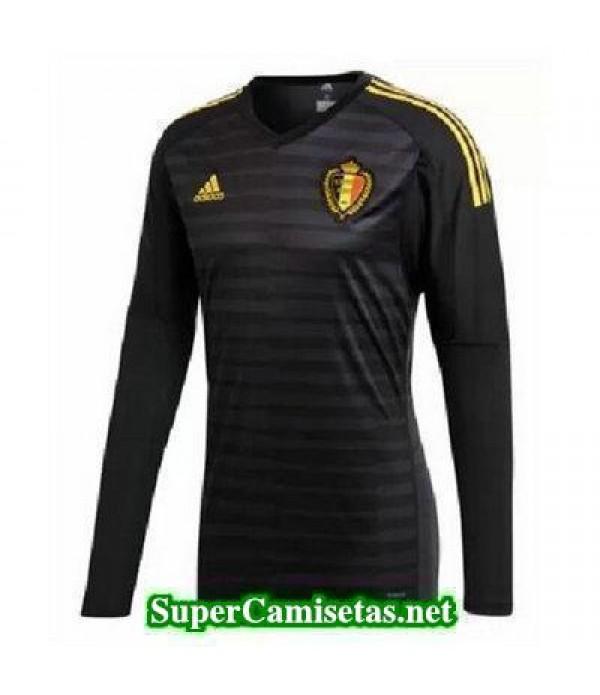 Portero Equipacion Camiseta Belgica ML Copa Mundial 2018