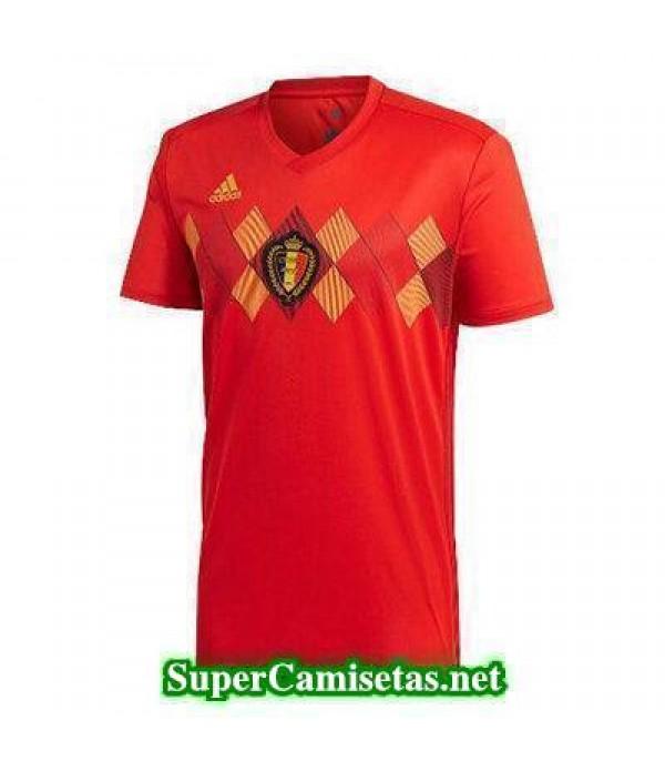 Primera Equipacion Camiseta Belgica Copa Mundial 2...