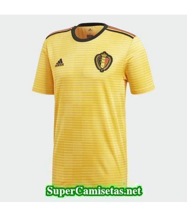 Segunda Equipacion Camiseta Belgica Copa Mundial 2...