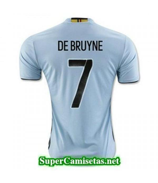 Segunda Equipacion Camiseta Belgica DE BRUYNE Eurocopa 2016