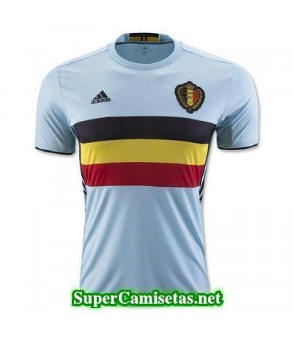 Segunda Equipacion Camiseta Belgica Eurocopa 2016