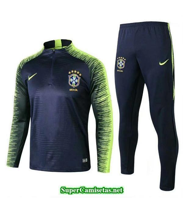 Camiseta entrenamiento Brasil ML Negro-01 2018 2019