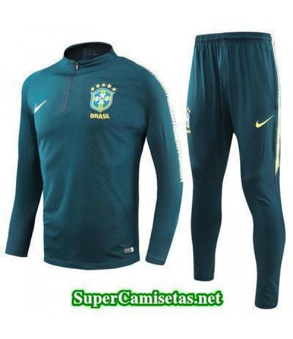 Camiseta entrenamiento Brasil ML Verde 2018 2019