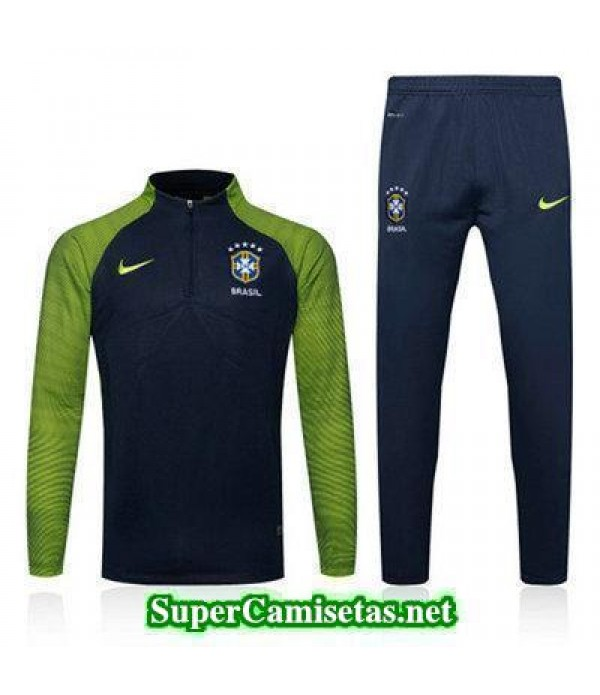 camiseta entrenamiento Brasil ML Verde y negro 2016