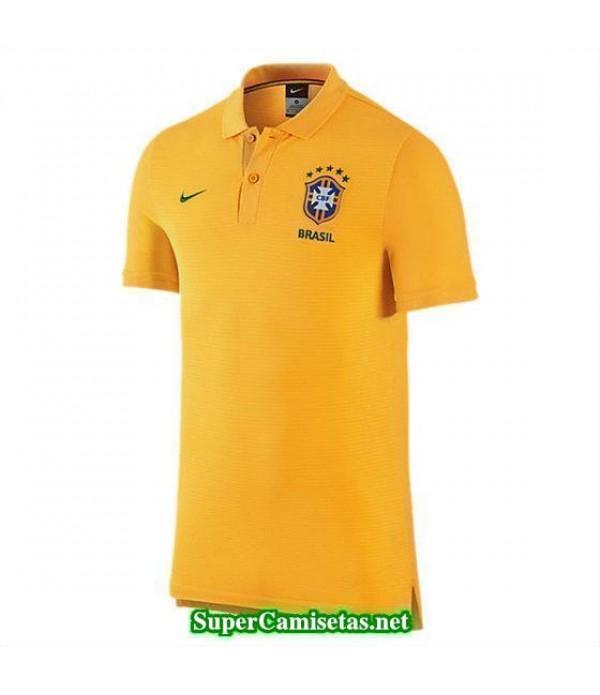 Camiseta polo Brasil Amarillo Copa America 2016