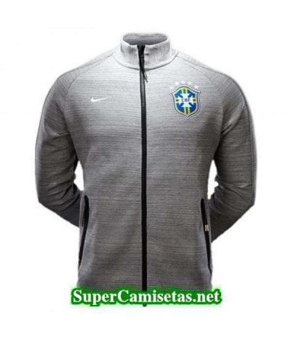 Chaquetas Brasil Gray 2015 2016 baratas