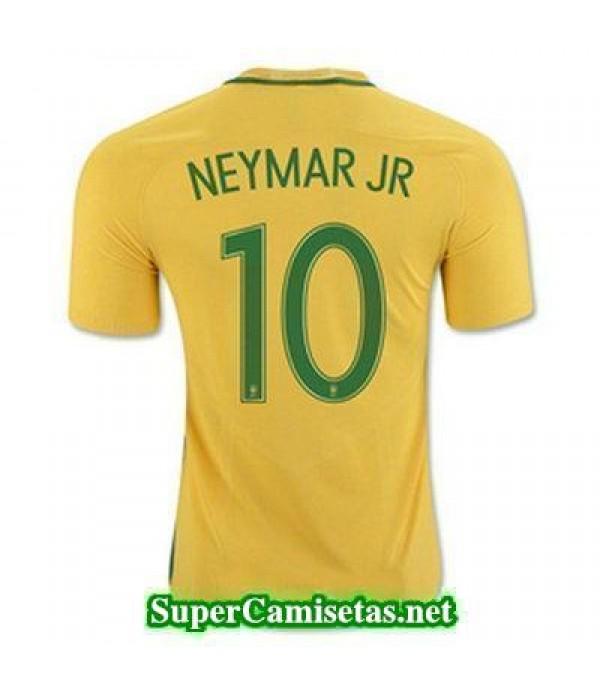 Primera Equipacion Camiseta Brasil NEYMAR JR Copa America 2016