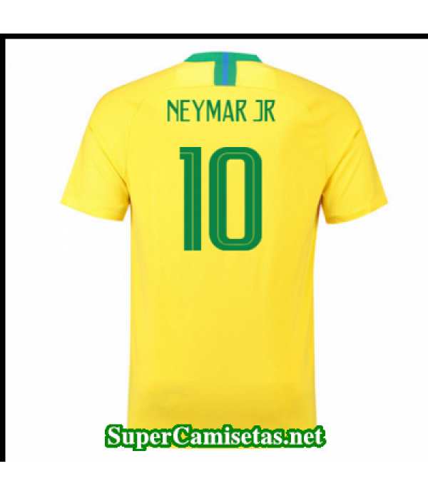 Primera Equipacion Camiseta Brasil Neymar jr Copa Mundial 2018