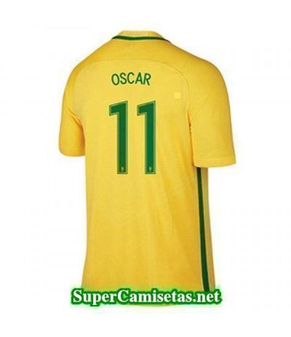 Primera Equipacion Camiseta Brasil OSCAR Copa America 2016