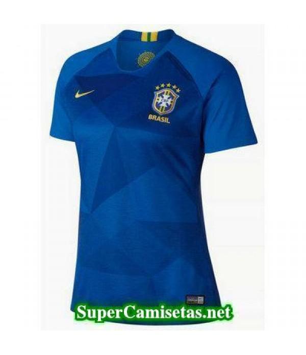 Segunda Equipacion Camiseta Brasil Mujer Copa Mund...