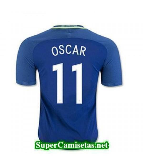 Segunda Equipacion Camiseta Brasil OSCAR Copa America 2016