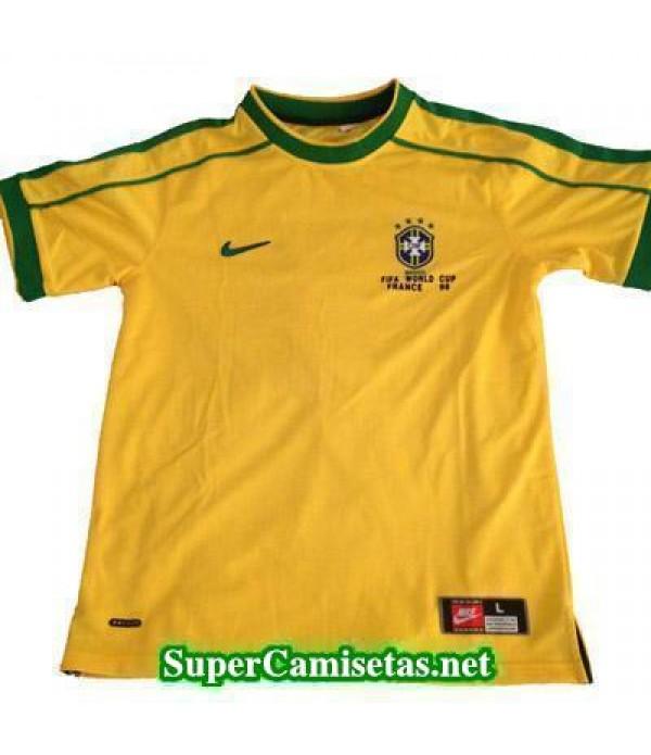 Tailandia Primera Equipacion Camiseta Brasil clasicas 1998