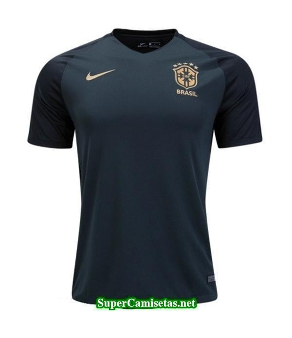Tercera Equipacion Camiseta Brasil 2017 2018