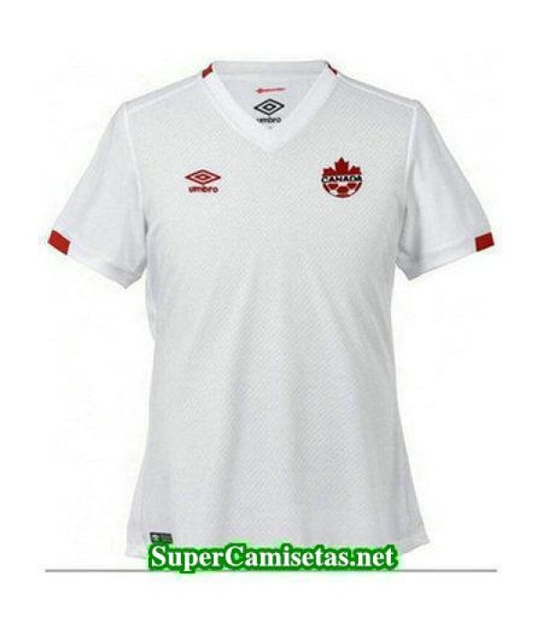 Segunda Equipacion Camiseta Canada 2017/18