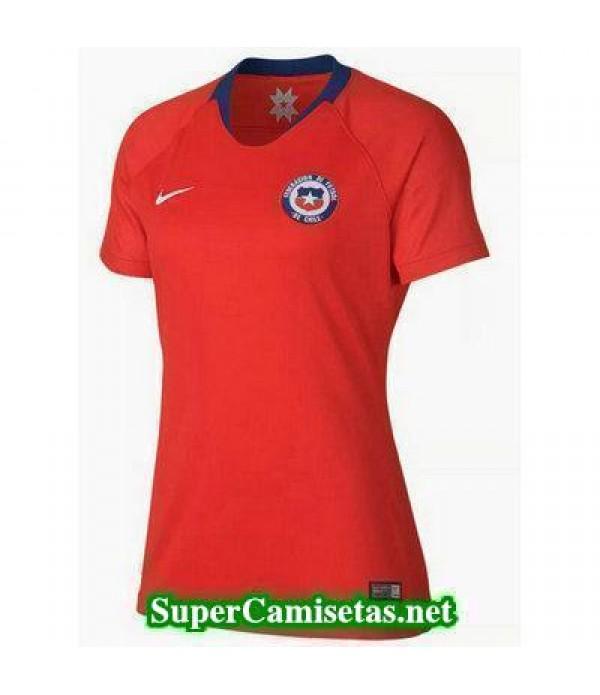 Primera Equipacion Camiseta Chile Mujer 2018 2019
