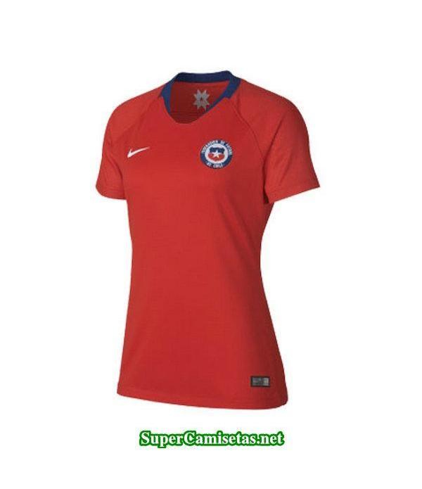 Primera Equipacion Camiseta Chile Mujer Copa Mundial 2019