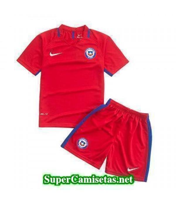 Primera Equipacion Camiseta Chile Ninos Copa America 2016
