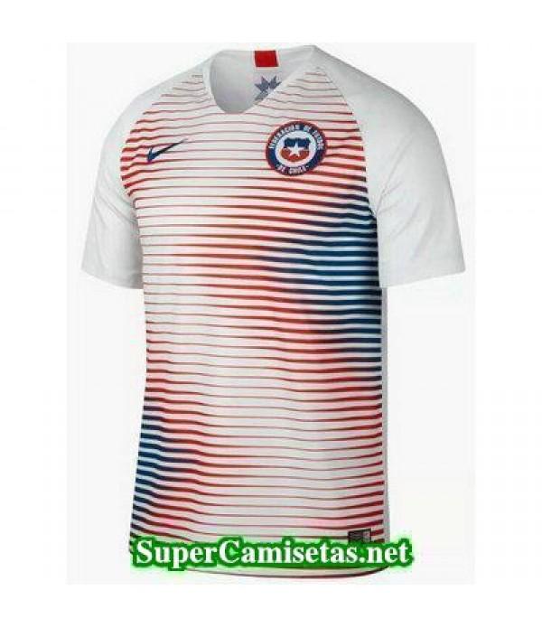 Segunda Equipacion Camiseta Chile 2018 2019