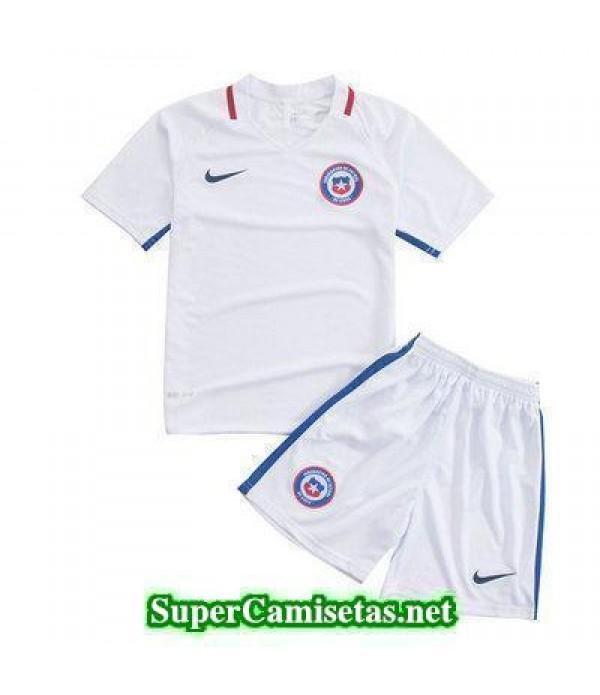 Segunda Equipacion Camiseta Chile Ninos Copa America 2016