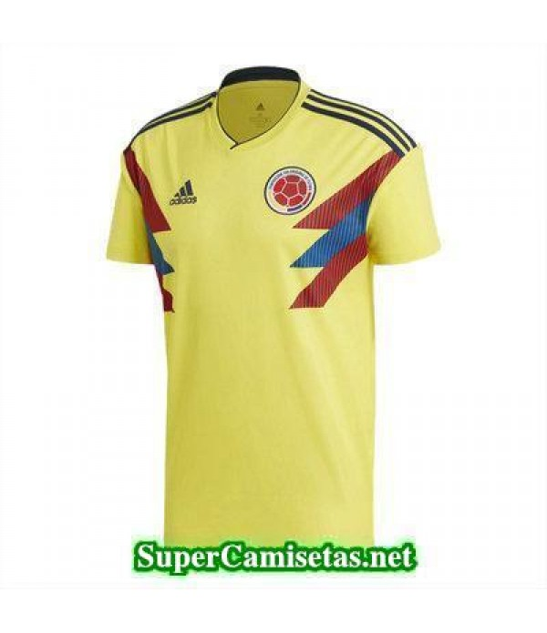 Primera Equipacion Camiseta Colombia Copa Mundial 2018