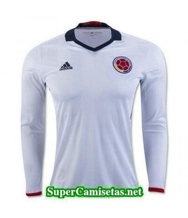 Primera Equipacion Camiseta Colombia Manga Larga Copa America 2016