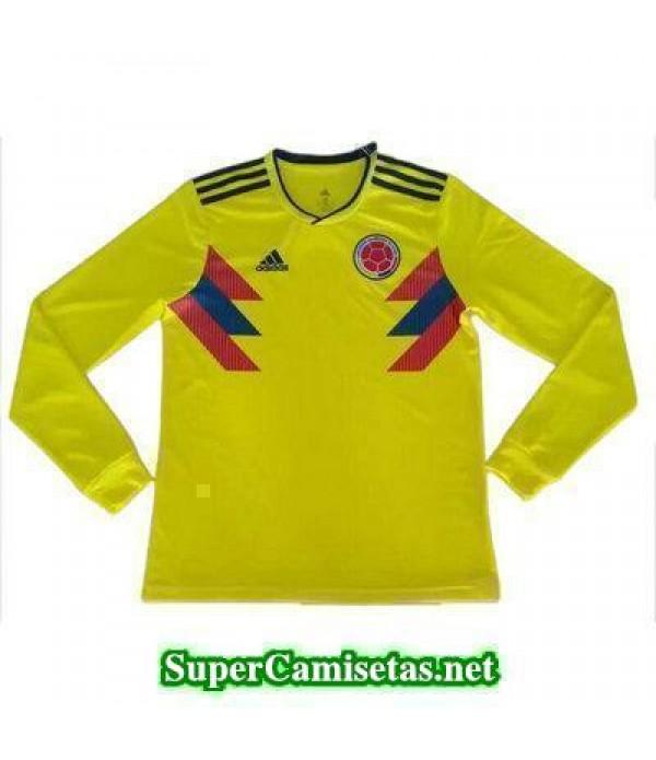 Primera Equipacion Camiseta Colombia ML Copa Mundial 2018