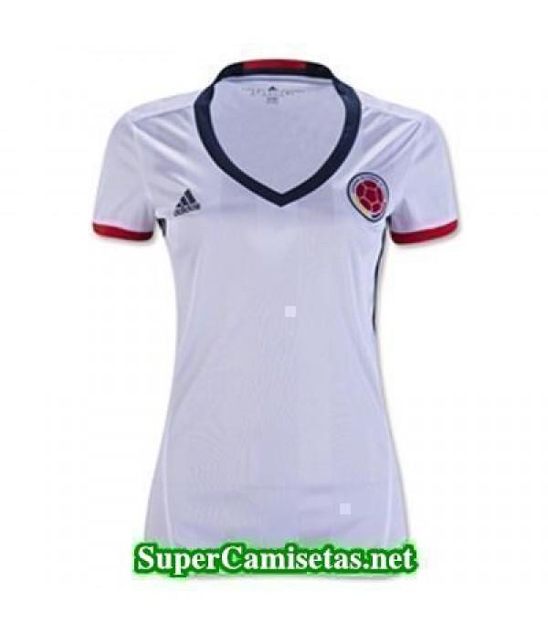 Primera Equipacion Camiseta Colombia Mujer Copa America 2016