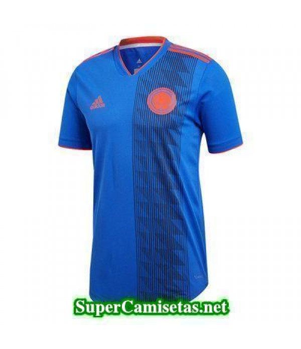 Segunda Equipacion Camiseta Colombia Copa Mundial ...