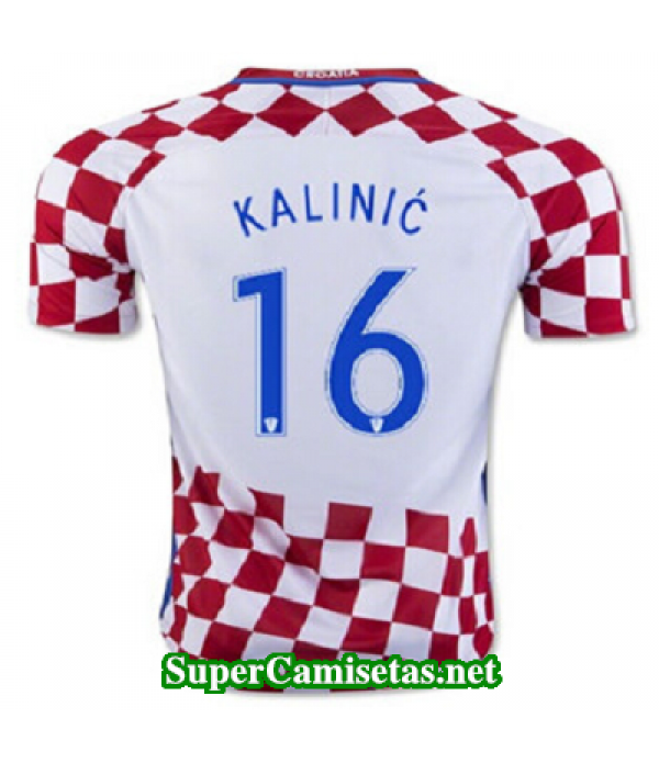 Primera Equipacion Camiseta Croacia KALINIC Eurocopa 2016