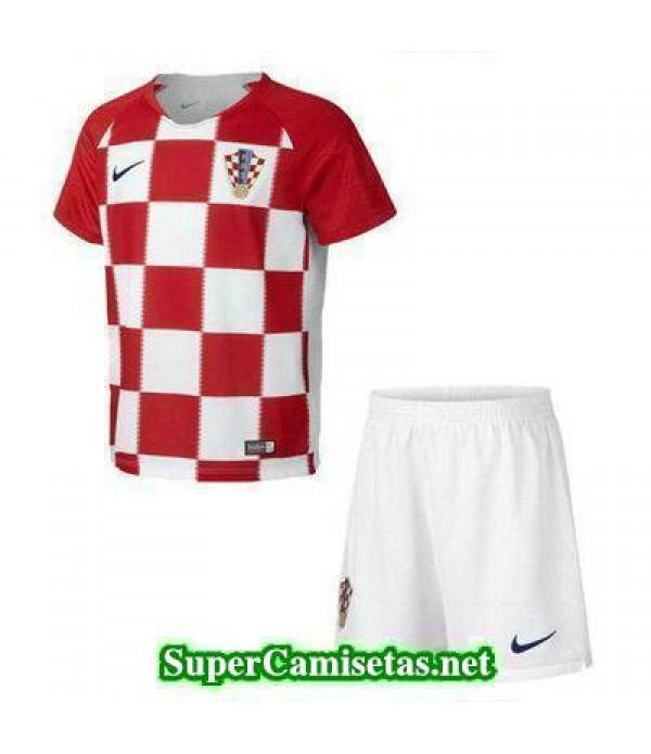 Primera Equipacion Camiseta Croacia Ninos Copa Mun...