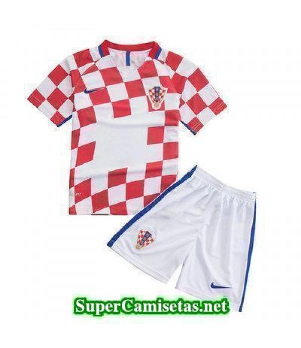 Primera Equipacion Camiseta Croacia Ninos Eurocopa 2016
