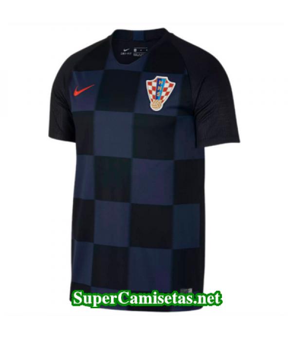 Segunda Equipacion Camiseta Croacia 2018 2019