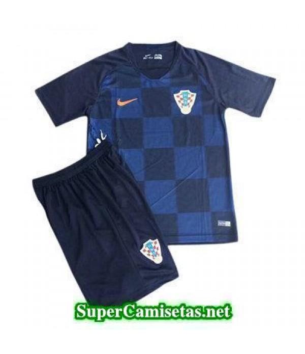 Segunda Equipacion Camiseta Croacia Ninos Copa Mun...